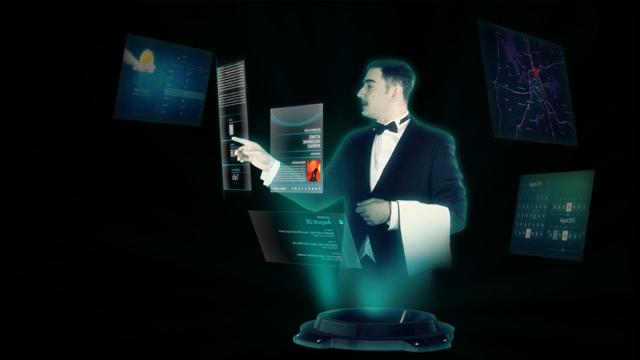 Futuroscope de Poitiers Hologramme